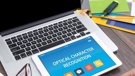 Optical Character Recognition on tablet screen